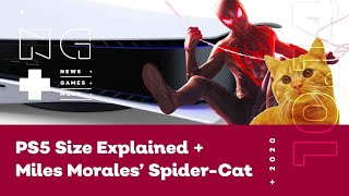 PS5's Size Explained + Miles Morales' Spider-Cat! - IGN News Live