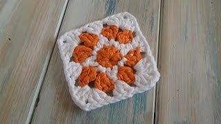 (crochet) How To - Crochet a Granny Square (version 2) - Yarn Scrap Friday