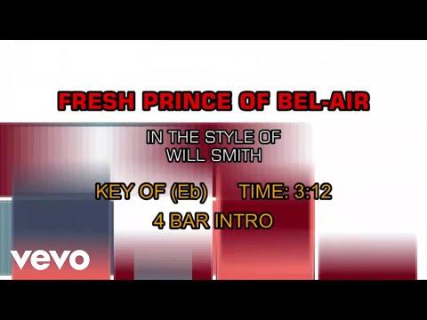 Will Smith - Fresh Prince Of Bel-Air (Karaoke)