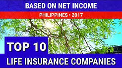 Top 10 Life Insurance Companies Philippines 2017 Based on Net Income