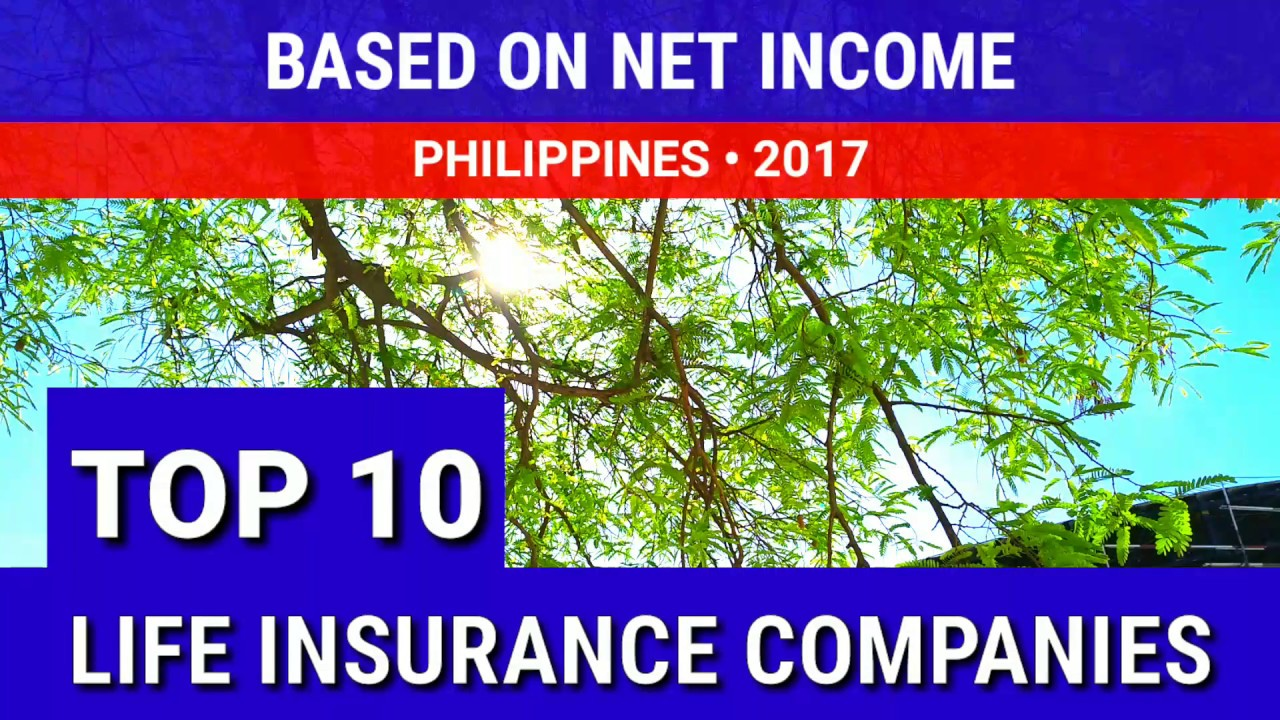 Top Ten Life Insurance Companies >> Top 10 Life Insurance Companies Philippines 2017 Based On Net Income