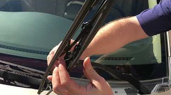 2009 Subaru Tribeca Wiper Blade Replacement