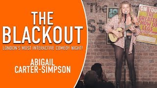 The Blackout - Abigail Carter-Simpson Comedian - Stand Up Comedy - Funny