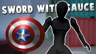 SAY HELLO TO MY SHIELD! - Sword With Sauce Alpha Gameplay