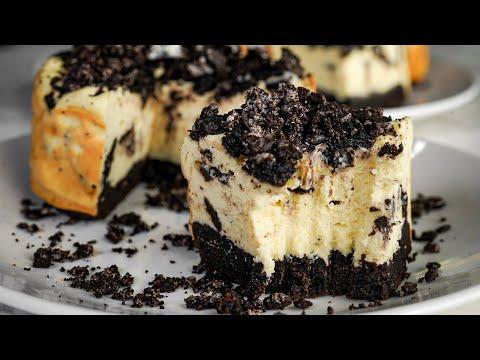 Oreo Protein Cheesecake Recipe!   High Protein, Low Calorie!