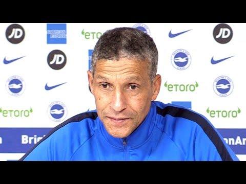 Chris Hughton Full Pre-Match Press Conference - Brighton v Liverpool - Premier League