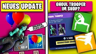 NEUES Update 🎃 Kommt Ghoul Trooper WIEDER? + Neue Skins, Leaks | Fortnite Season 6 Deutsch German