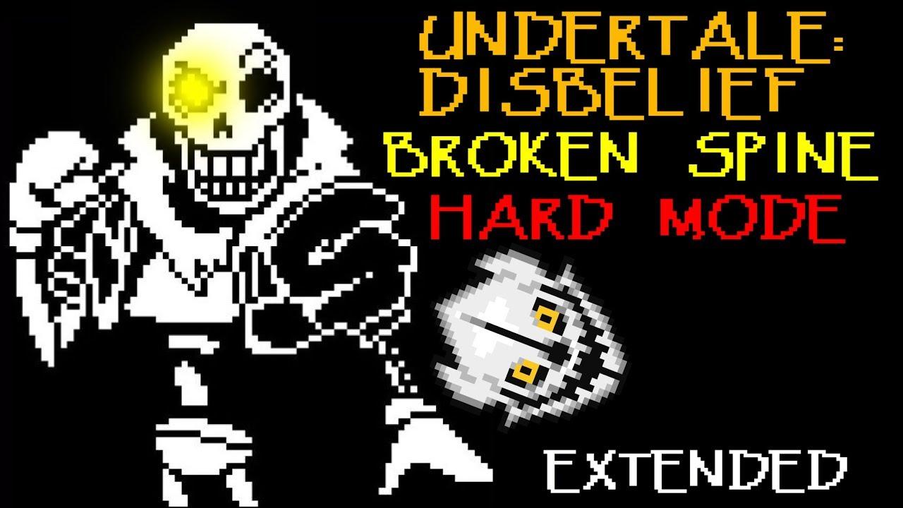 [Disbelief Hard Mode] [Phase 3] BROKEN SPINE (Extended)