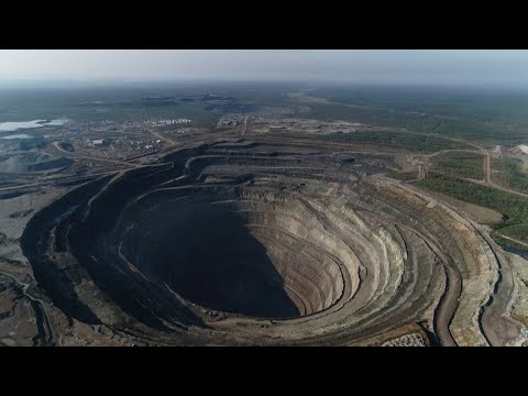 Siberia's Diamond Mines Leave Gaping Holes In The Planet
