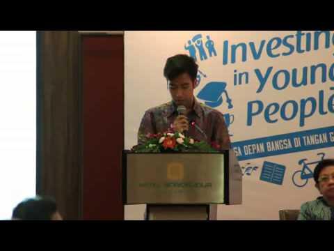 Vidi Aldiano as Speaker in World Population Day Conference 2014