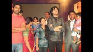 Shivarudra Niak with Rajesh krishnan- playback singer, sandalwood