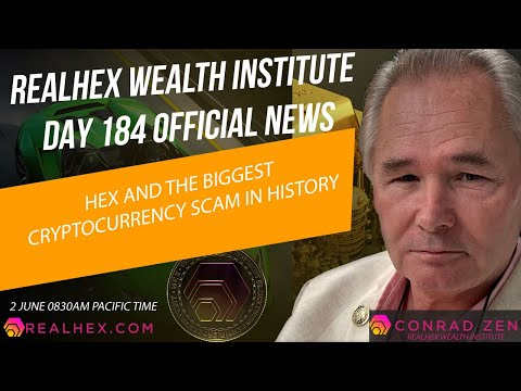 REPLAY: #HEX DAILY NEWS UPDATE AND THE BIGGEST CRYPTOCURRENCY SCAM IN HISTORY