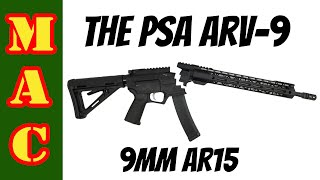 Palmetto State Armory AR-V 9mm AR15 That Takes Scorpion Mags