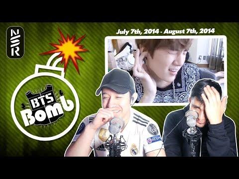 GUYS REACT TO BTS' BANGTAN BOMBS' (7/07/14-8/07/14)