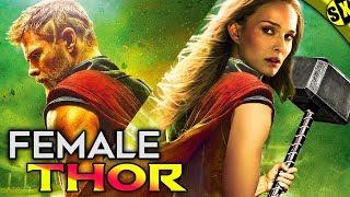 Jane Foster Will Lift Thor's Hammer   Female Thor Origin   Thor 4 Love and Thunder   Hindi