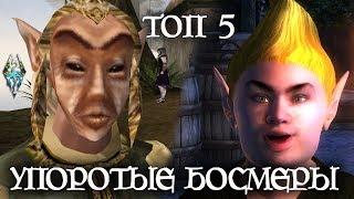ТОП 5 УПОРОТЫХ БОСМЕРОВ The Elder Scrolls