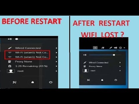 HOW TO FIX WIFI (WLAN0) LOST PROBLEM IN KALI LINUX ON VIRTUALBOX IN WINDOWS  7/8/8 1/10