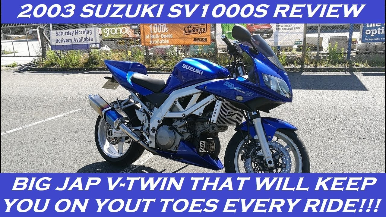 Onwijs 2003 SUZUKI SV1000S REVIEW AND THOUGHTS - YouTube MM-92