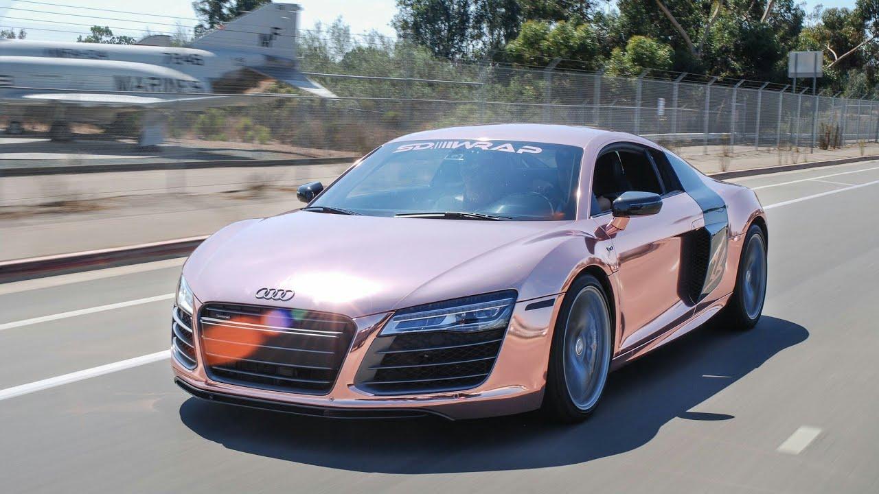(GTA 5)How to make Tanner Braungardt's rose gold Audi R8 - YouTube