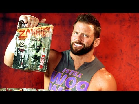 Zack Ryder gets grossed out by Mattel's WWE Zombies action figures: WWE Unboxed with Zack Ryder