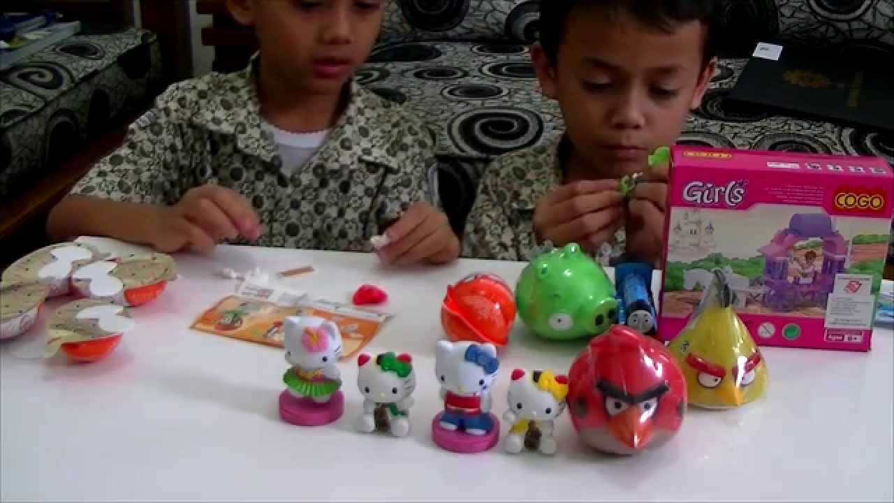 Kinder Joy Mainan Anak Youtube Truck Anggri Bird