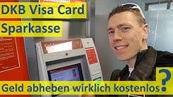 DKB Geld abheben ► über Sparkasse kostenlos?