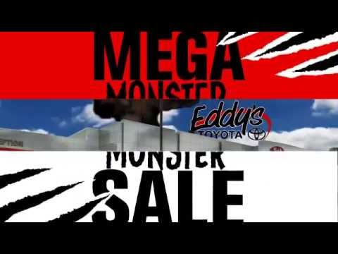 MEGA MONSTER SALE, GOING ON NOW! Eddy's Toyota, Wichita, KS New & Used Toyota, Ford, Honda and more!