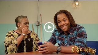 Victorious The slap-Andre Grandma's Text