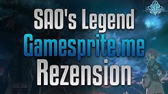 「Rezension」→ SAO's Legend ✗「German」