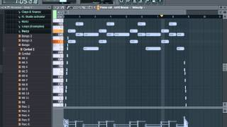 The lazy song (INSTRUMENTAL)+ Flp!!