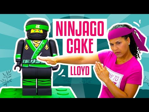 How To Make LLOYD From The NEW LEGO NINJAGO MOVIE Out Of CAKE  Yolanda Gampp  How To Cake It