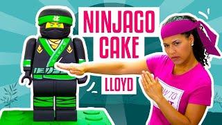 How To Make LLOYD From The NEW LEGO NINJAGO MOVIE Out Of CAKE | Yolanda Gampp