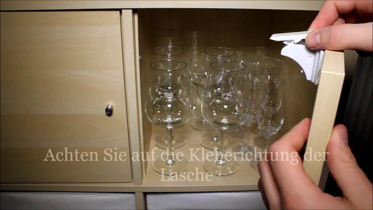 Montageanleitung für die unsichtbare Magnetschloss-Kindersicherung ...