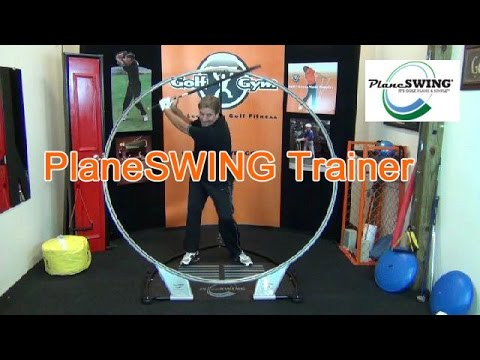 How To Use The PlaneSWING Trainer From The GolfGym Studio