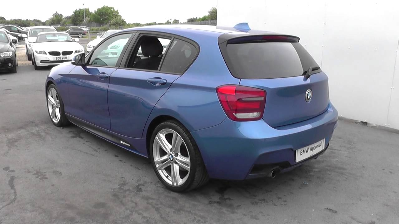 bmw 1 series 5-door sports hatch (f20) 116i m sport 5-door sports