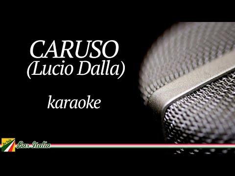 Lucio Dalla - Caruso (Karaoke Base Musicale con testo Cover)