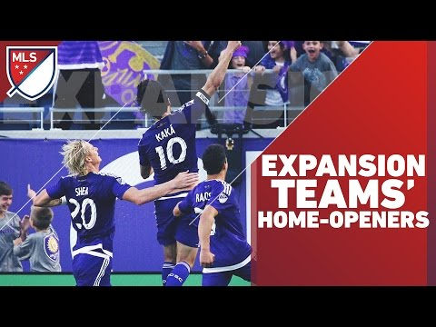 Every Expansion Team Home-opener in MLS