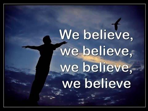 We believe - Matt Hooper Lyric Video