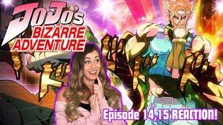 CAESAR ZEPPELI! JoJo's Bizarre Adventure Episode 14,15 REACTION!
