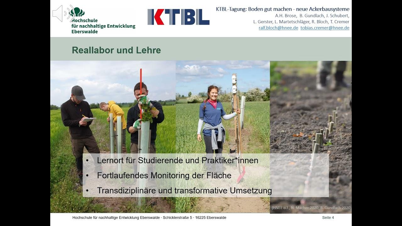 Projekt Ackerbau(m) – Studis berichten bei der KTBL Tagung