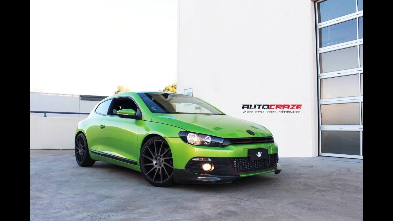 VW Scirocco R >> Volkswagen VW Scirocco R Wheels - Niche Surge Rims | AutoCraze - YouTube