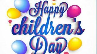 Happy Children's Day WhatsApp Status| New Trending Children'sday status|children'sday greetings