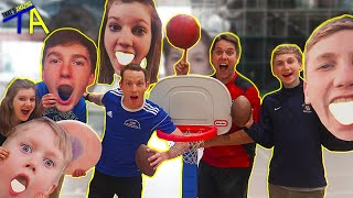 Challenging THAT'S AMAZING To All Sport Trick Shot Battle!