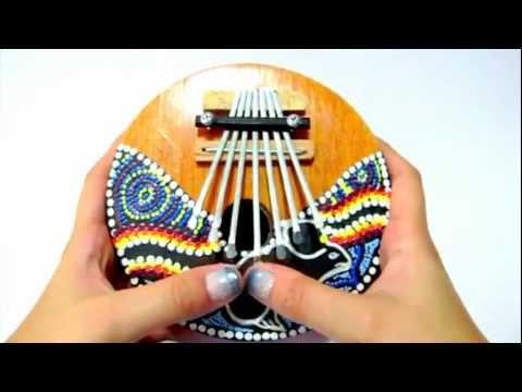 Coconut Husk Musical Instrument