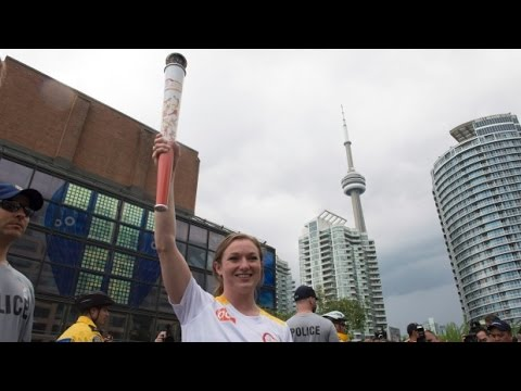 2015 Pan Am Games torch relay begins in Toronto