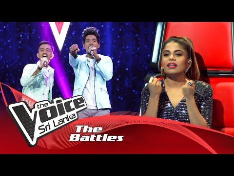 The Battles : Prabhath Darshana V Vimukthi Jayashan | Saragi Asille | The Voice Sri Lanka