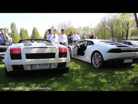 Lamborghini SOUND Battle V10 - Gallardo VS Huracan - YouTube