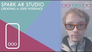 Spark AR Studio de Prise de Travail de l'INTERFACE utilisateur
