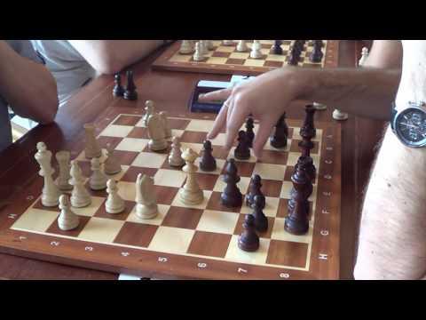 GM Ehlvest Jaan - GM Neiksans Arturs,  Catalan opening, live chess blitz