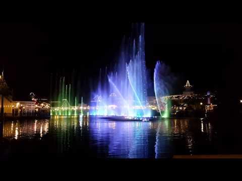 Boardwalk Casino & Hotel Water & Lights Show, Port Elizabeth HD